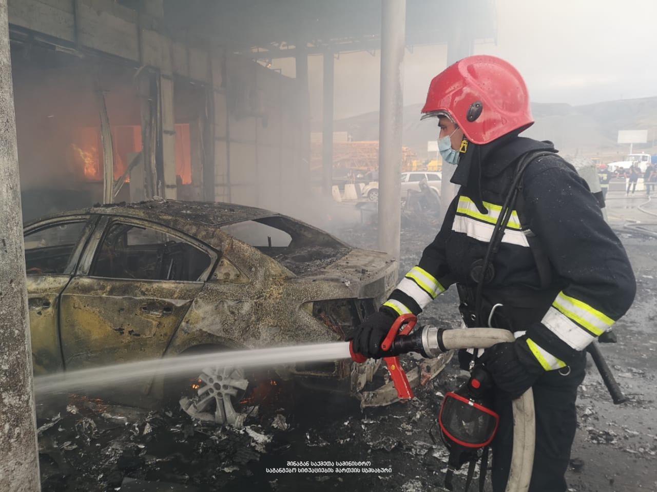 197788253 2583246391979577 7729503618735814249 n #новости авторынок Рустави, пожар