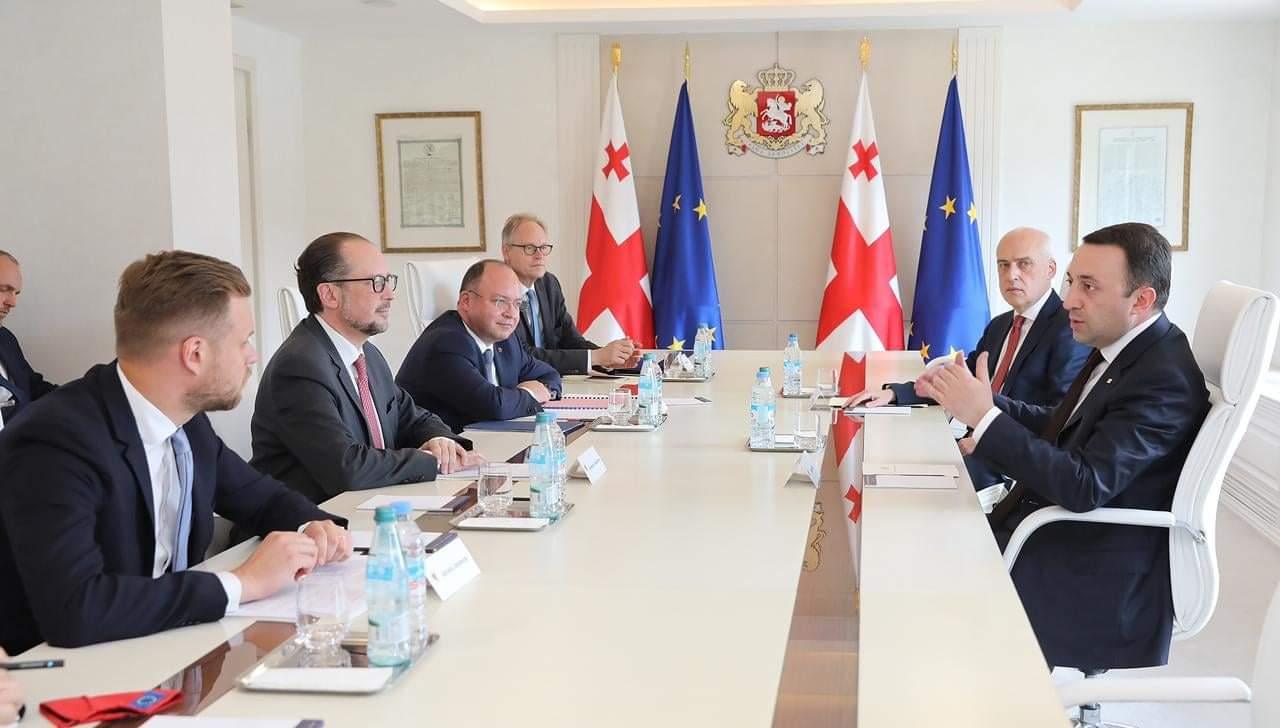 206588141 2027826737355220 4078134434161956465 n #новости Грузия-ЕС, Ираклий Гарибашвили