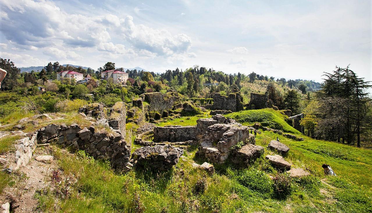 Petra Castle Другая SOVA featured, Аджария, археология, Византия, история, Петра, Цихисдзири