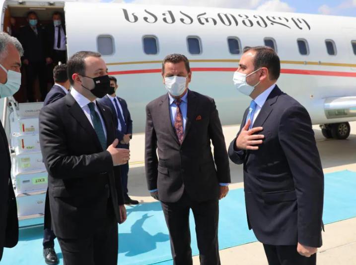 Screenshot 2021 06 01 at 17.11.22 #новости Ираклий Гарибашвили, президент Турции, Премьер-министр Грузии, Реджеп Тайип Эрдоган