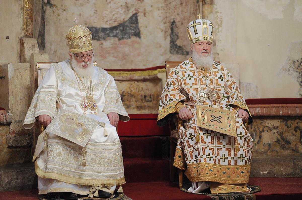 Ilia II Kirill 3 Илия Второй Илия Второй