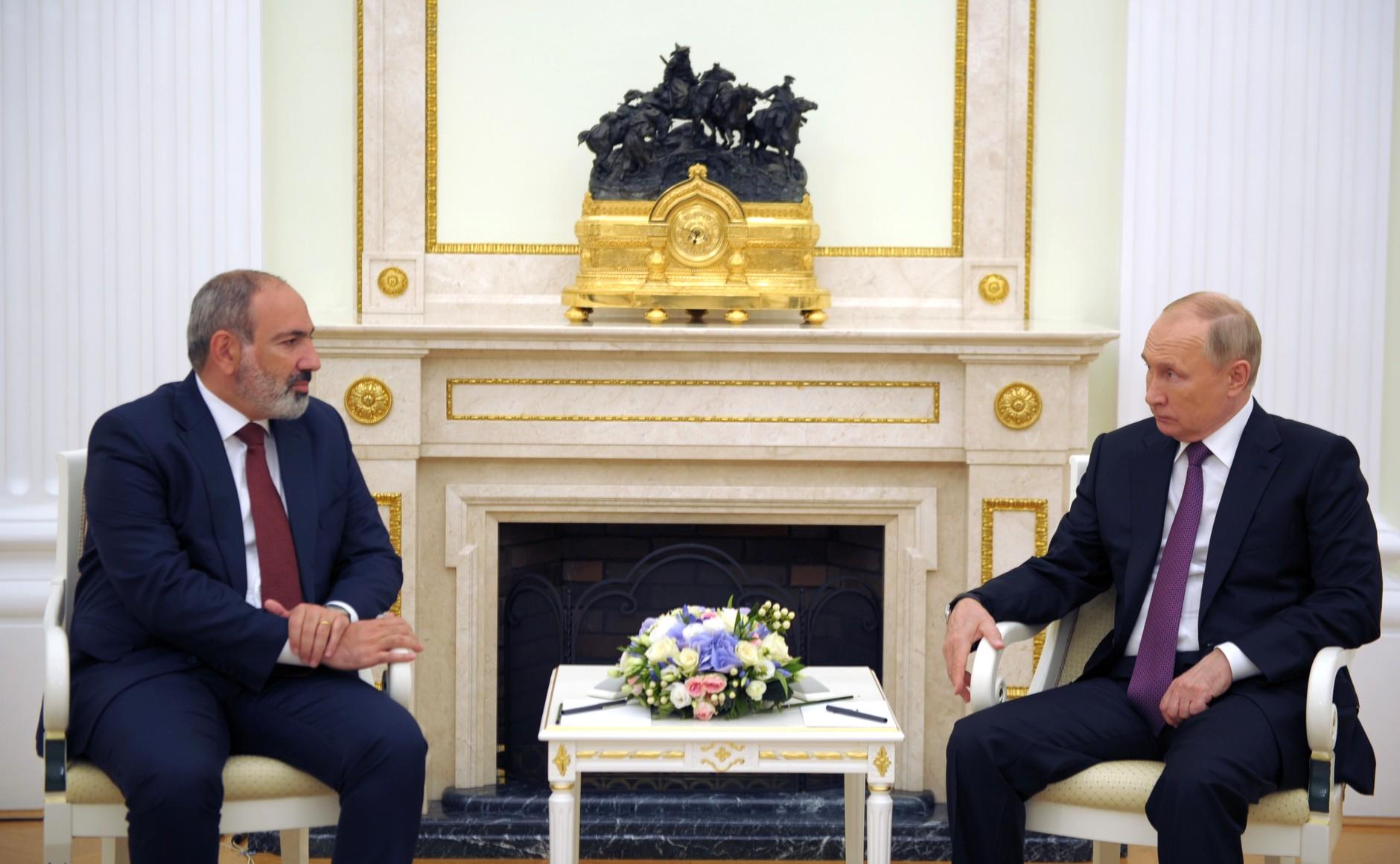 Pashinyan Putin 1 Азербайджан Азербайджан