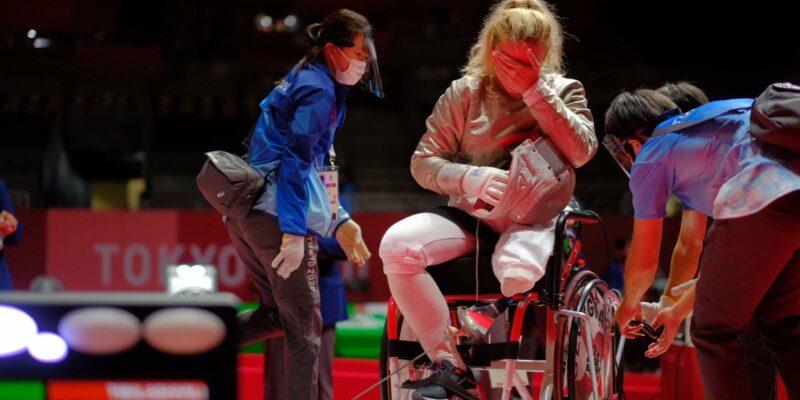 240479546 6113706525338514 5162342354207295473 n #новости Нино Тибилашвили, паралимпиада в Токио, спорт, фехтование