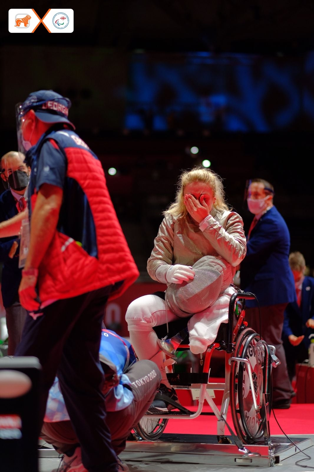 240506114 6113706252005208 2189560164483188503 n #новости Нино Тибилашвили, паралимпиада в Токио, спорт, фехтование