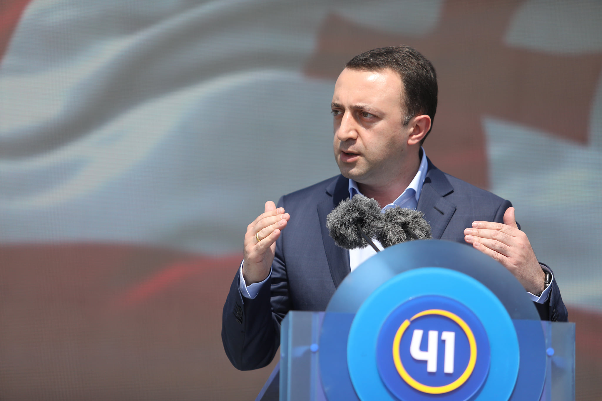 Irakli Gharibashvili 321422 #новости Ираклий Гарибашвили, Михаил Саакашвили