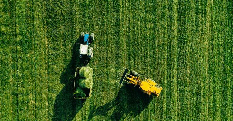 aerial view of harvest field with tractor moving h qlvk68s 768x512 1 #новости Грузия-Германия, трудовые мигранты