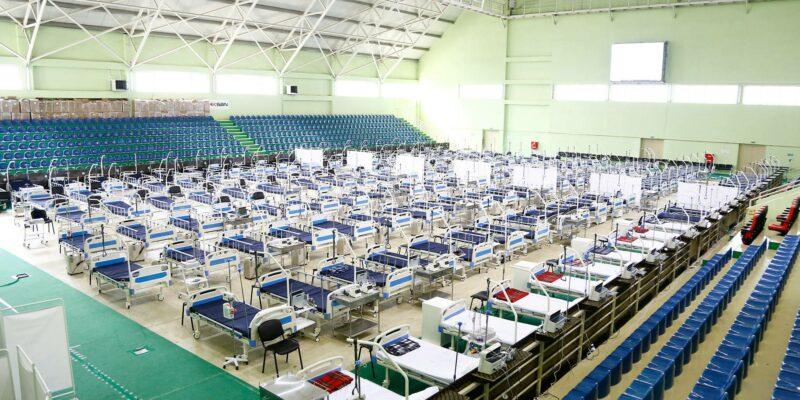 hospital 1 #новости Covid-19, коронавирус, коронавирус в Грузии, Тамар Габуния