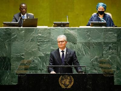gitanas nauseda 2 Генассамблея ООН Генассамблея ООН