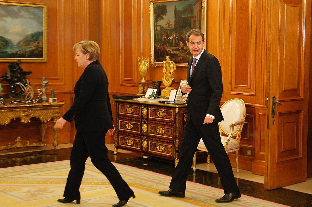 Меркель и Сапатеро