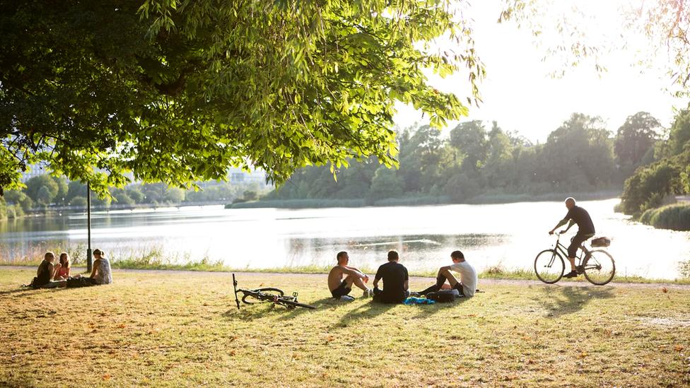 Обширные парки и открытые пространства Копенгагена помогли его жителям легче перенести антиковидные ограничения