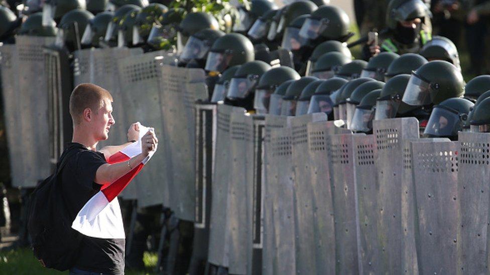 Протест в Беларуси. Сентябрь 2020