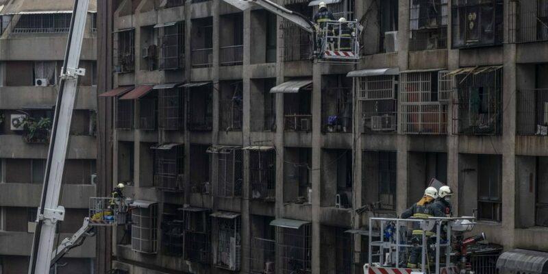 121076322 gettyimages 1235870184 Новости BBC пожар, Тайвань, трагедия