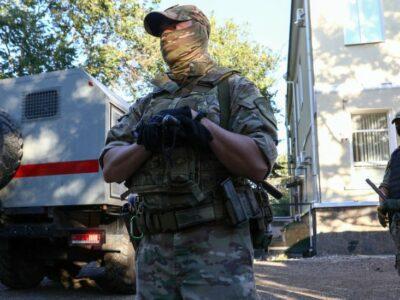 121095538 crimearosgvardiagetty Новости BBC Крым, Россия, украина