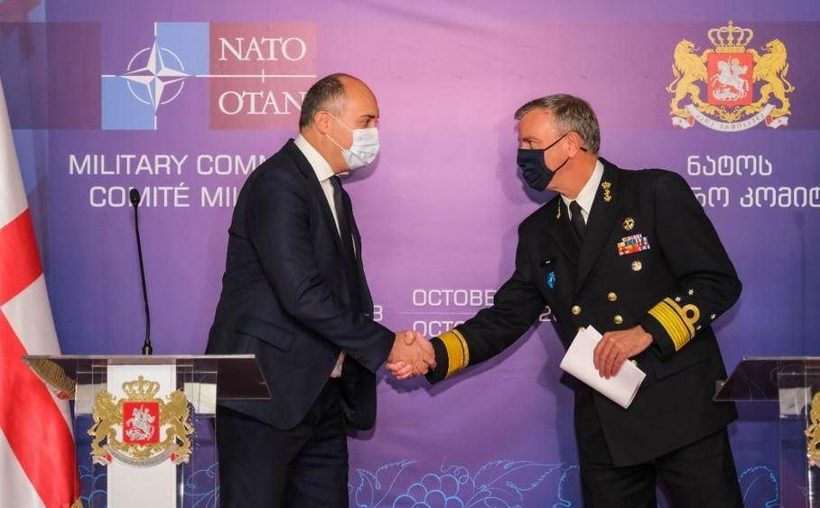 46622262 #новости Грузия-НАТО, Джуаншер Бурчуладзе, НАТО, Роб бауэр