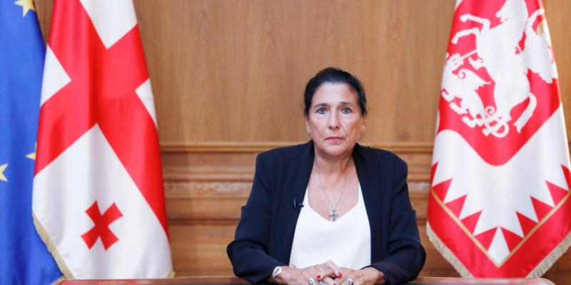 salome zourabishvili #новости возвращение Саакашвили, Грузинская мечта, Михаил Саакашвили, Саломе Зурабишвили