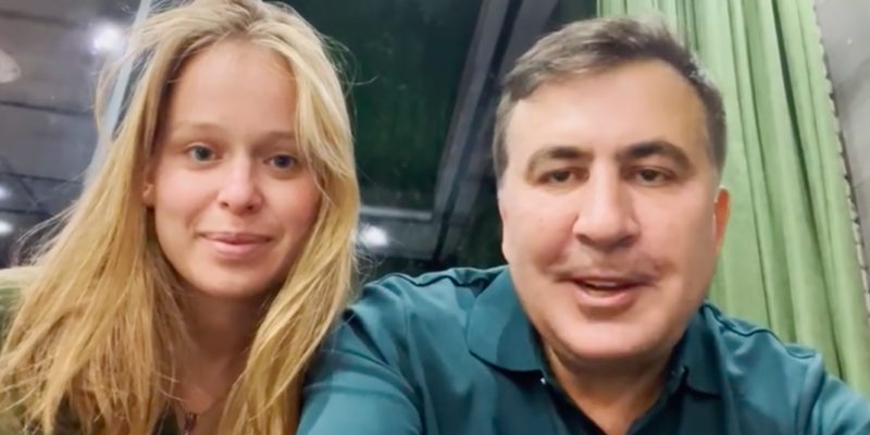 screenshot 2021 10 01 at 21.59.21 #новости возвращение Саакашвили, Лиза Ясько, Михаил Саакашвили