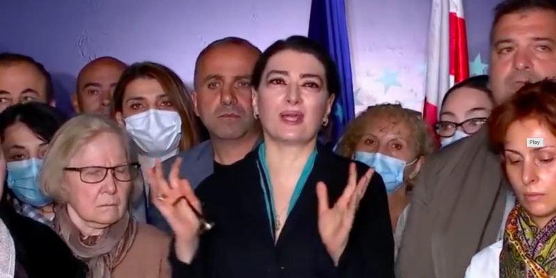 screenshot 2021 10 04 at 14.16.54 #новости возвращение Саакашвили, Тако Чарквиани