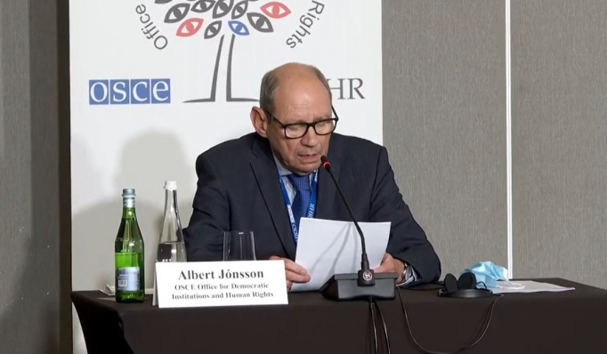 #новости Альберт Джонсон, БДИПЧ/ОБСЕ, выборы-2021